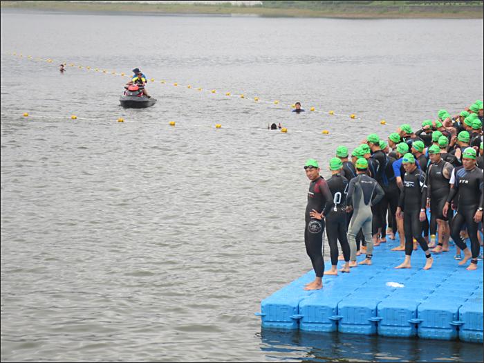 수영(1.5km) 준비중
