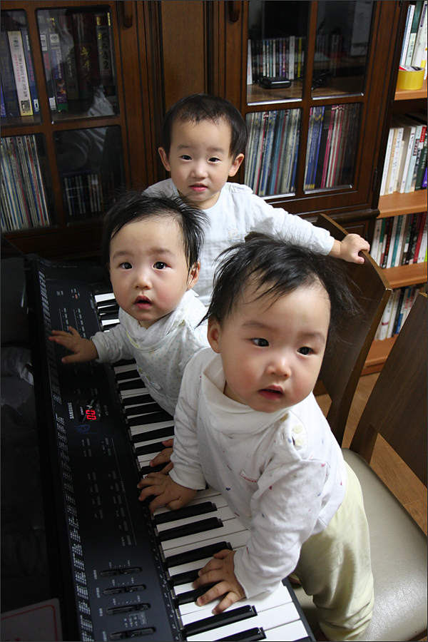 뮤직의 기본은 피아노 아니겠어!