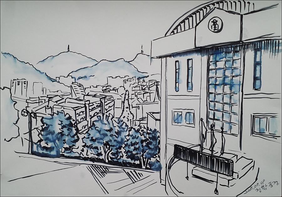 창밖 풍경