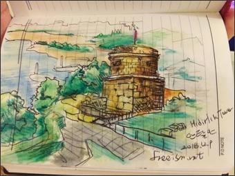 히드르륵 타워, 나는 예술이다!