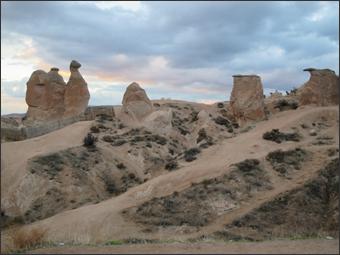 데브란트 계곡과 낙타바위