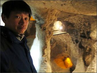 박해를 피해 파내려간 데린쿠유 지하도시