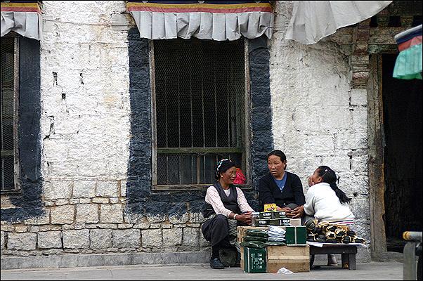 티벳, 라사의 여인
