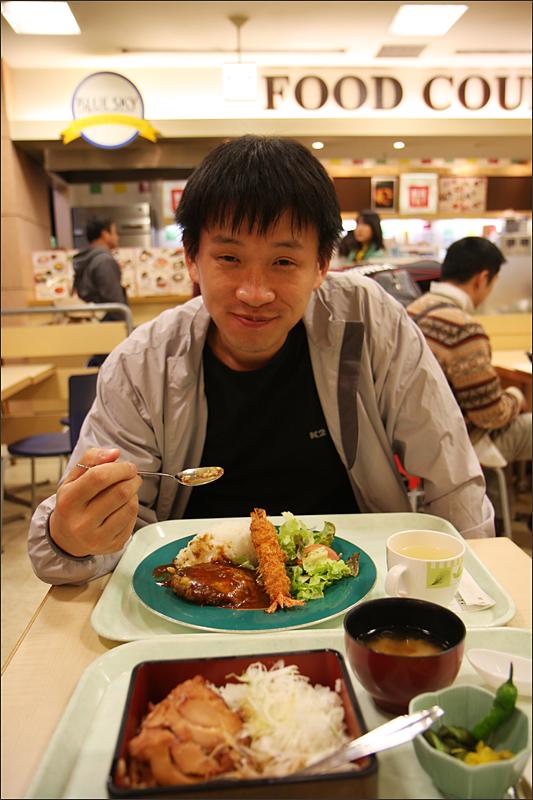잠시 들른 일본에서의 저녁