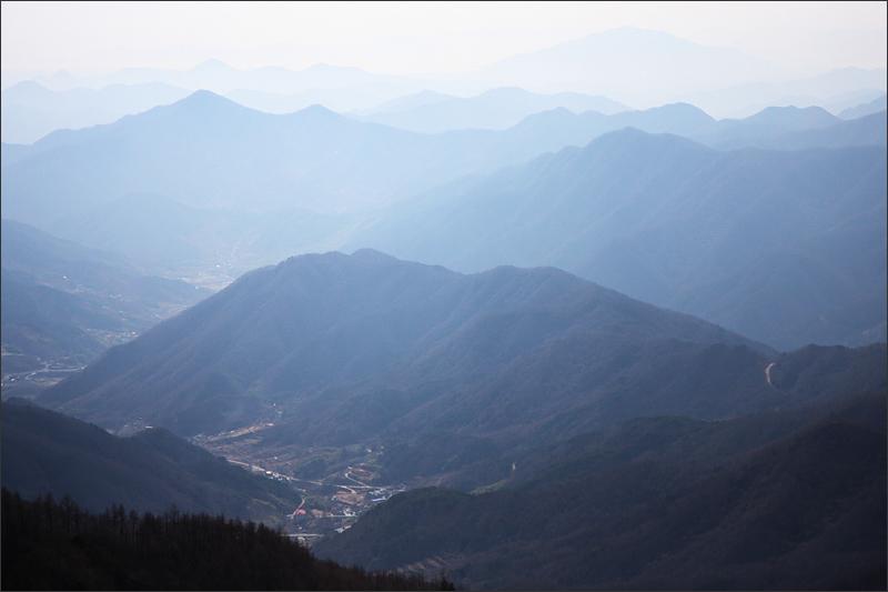 지리산 남쪽 전경(중산리)