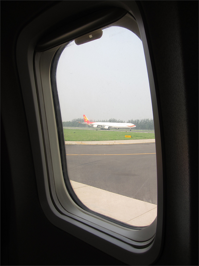 착륙하는 비행기