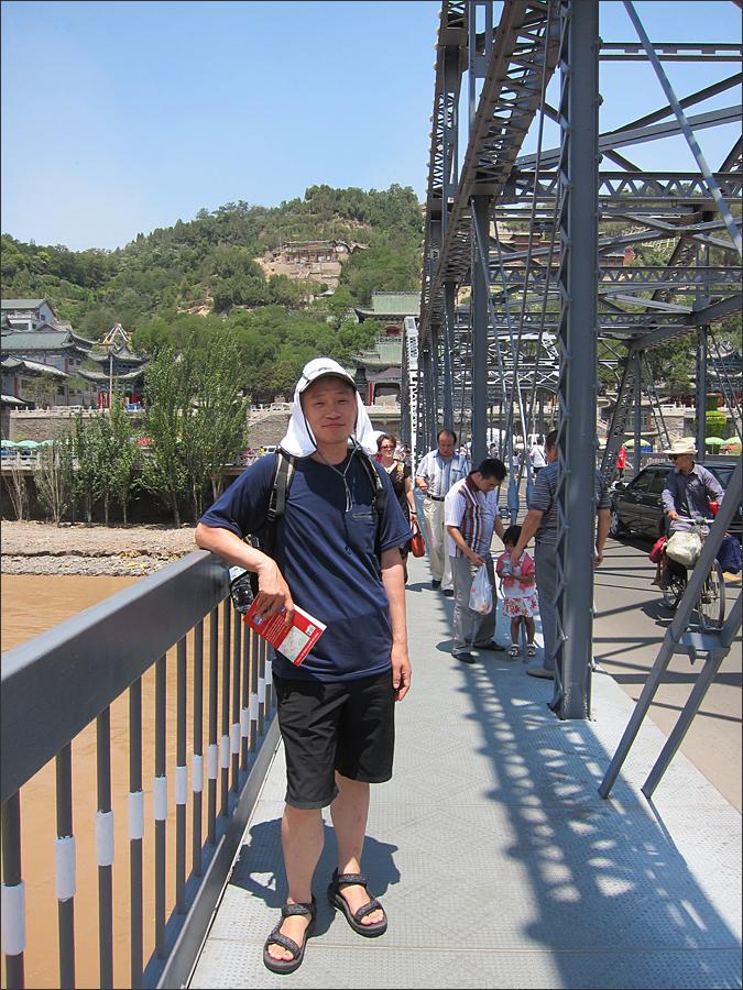 황하제일교(중산교)에서