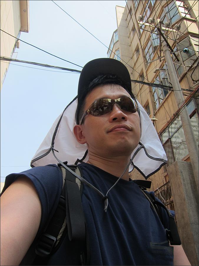 란저우 거리에서