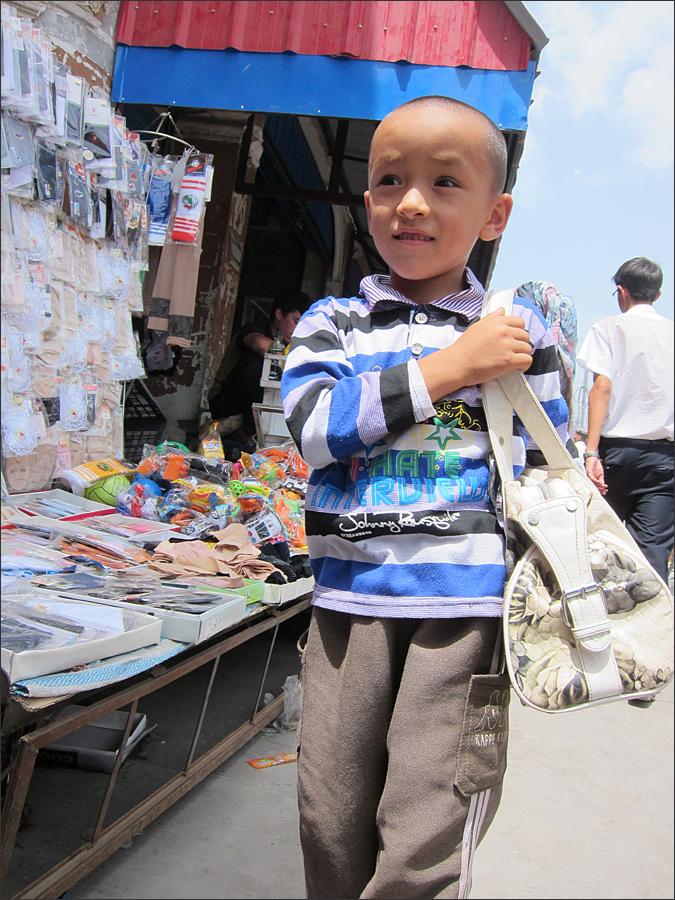 바자르에서 만난 소년