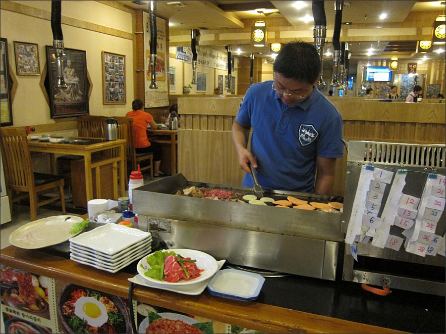 한국식당(한성) 모습