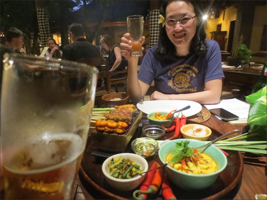 붐부발리(딴중 베노아)에서의 저녁식사