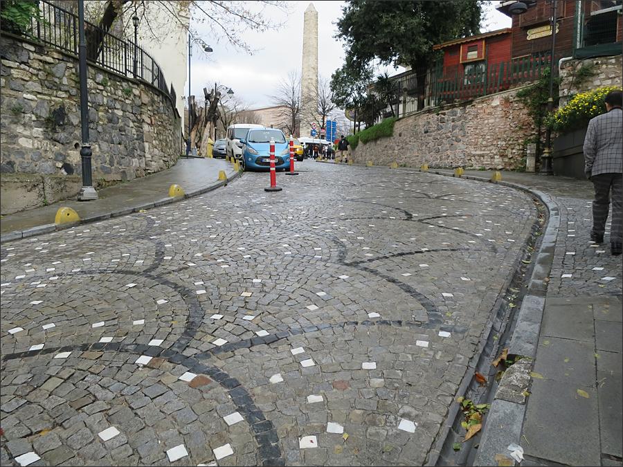이스탄불의 골목길(아야 소피아 박물관 가는 길)