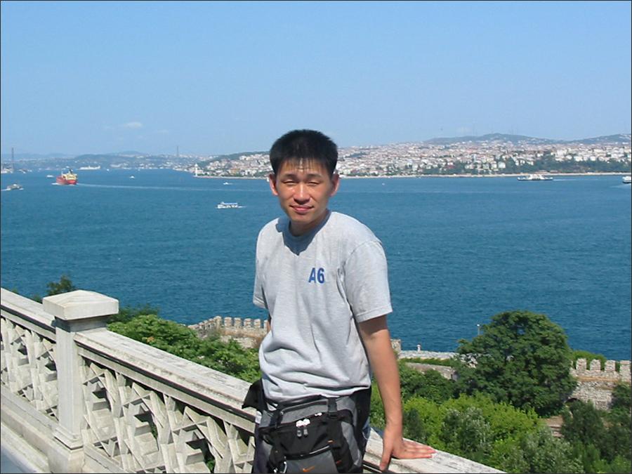 20030730, 터키 이스탄불 톱카프 궁전에서 바라본 보스포러스 해협