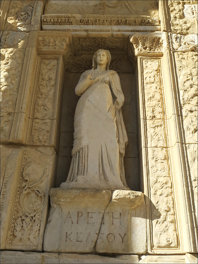 운명을 상징하는 여신, 아레테