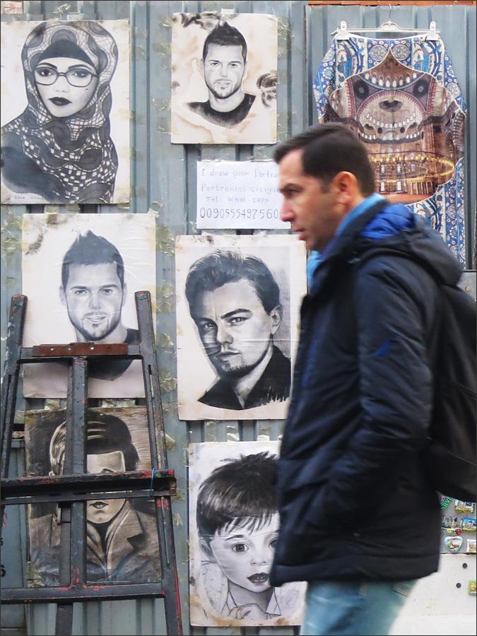 이스탄불 거리에서