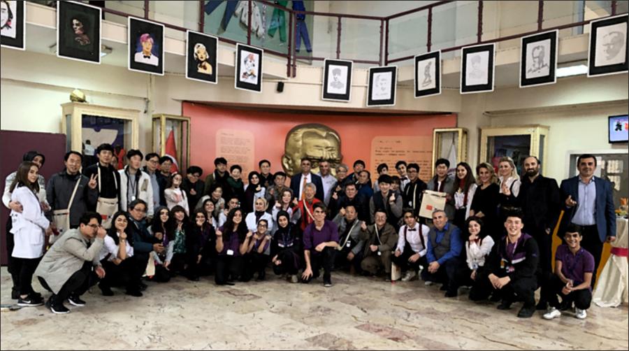우리를 따뜻하게 맞아준 터키 직업고등학교 교직원과 학생