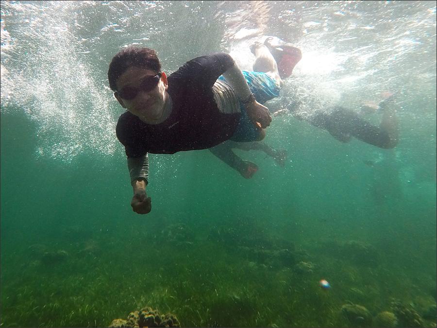 세부적 in 수영